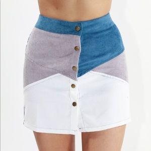 Dresses & Skirts - Brea Corduroy Button Down Skirt